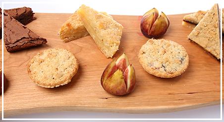 napa valley vineyard lunch dessert platter