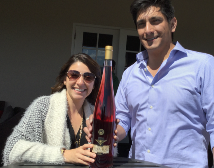 Viva La Summer and Rose, Napa Valley Two