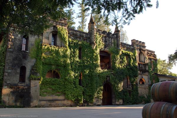 Chateau Montelena in Calistoga